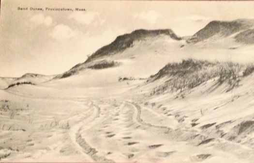 Provinetown Sand Dunes 100 years ago