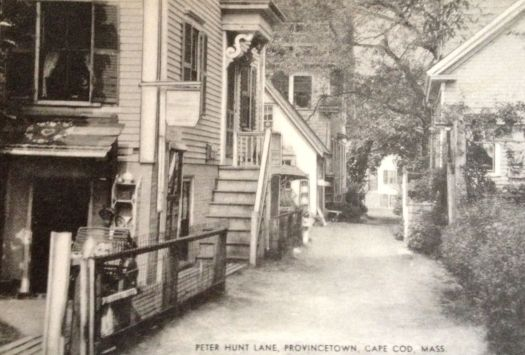 Peter Hunt Lane, Provincetown, Cape Cod, Massachusetts