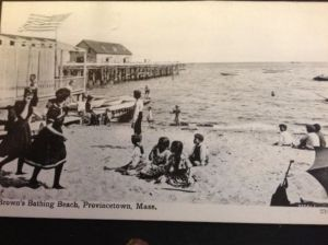 Brown's Bathing Beach in Provincetown, Massachusetts