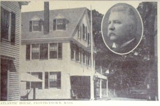 Atlantic House, Provincetown, Massachusetts and owner Frank Potter Smith