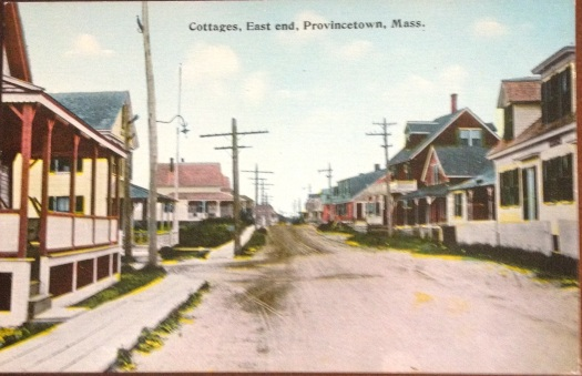 East End Cottages on Commercial Street in Provincetown, Massachusetts