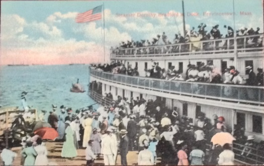 The Steamer Dorothy Bradford arriving in Provincetown in 1911