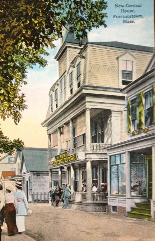 New Central Hotel in Provincetown, Massachusetts now Crown & Anchor