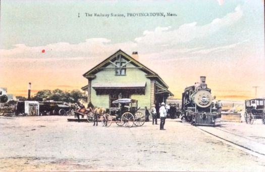 Provincetown, Cape CodRailroad Station 1920