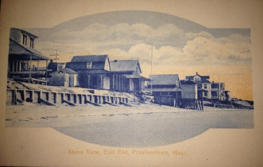 A view from the shore of Provincetown, Cape Cod's East End