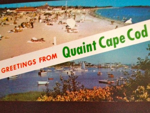Vintage chrome postcard.