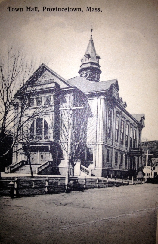 Provincetown Town Hall was completed 1886