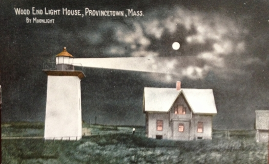 Wood End Lighthouse Provincetown, Cape Cod By Moonlight