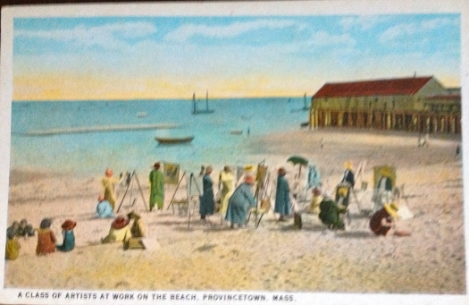 antique postcard published by H.A. Dickerman & Son, Taunton Massachussetts