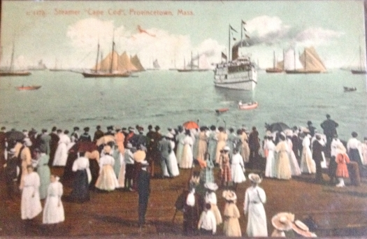 Boston Boat arriving in Provincetown, Cape Cod