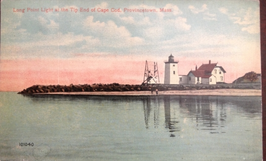 Long Point Light at the Tip of Cape Cod, Provincetown, Masachusetts