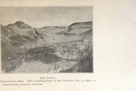 Provincetown Sand Dune postcard published by The Advocate  cira 1900