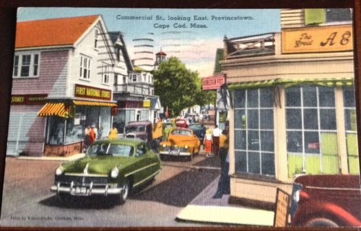 Center of Provincetown  mid 20th century