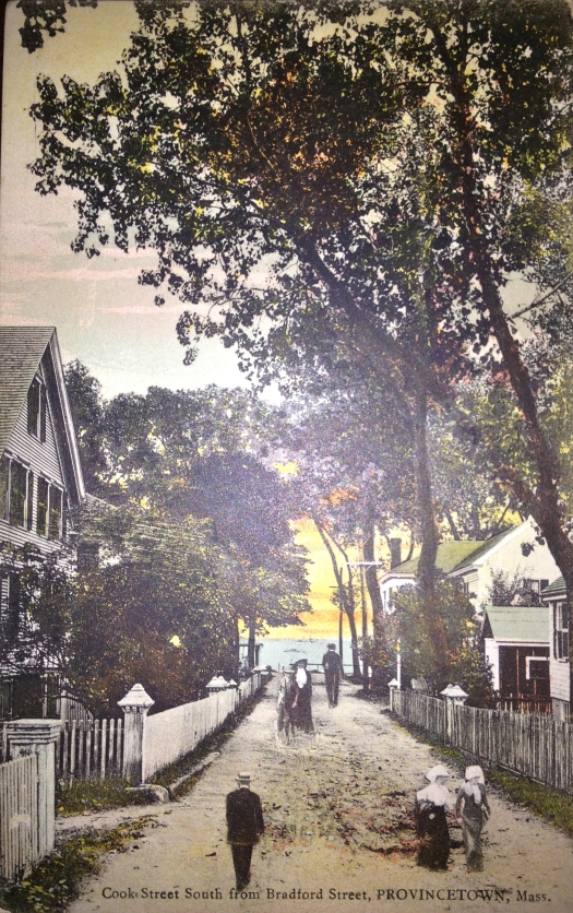 Cook Street in Provincetown looking towards Commercial Street.