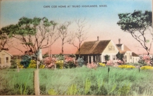 Cape Cod Cottage in the Truro Highlands near Highland Light in North Truro.