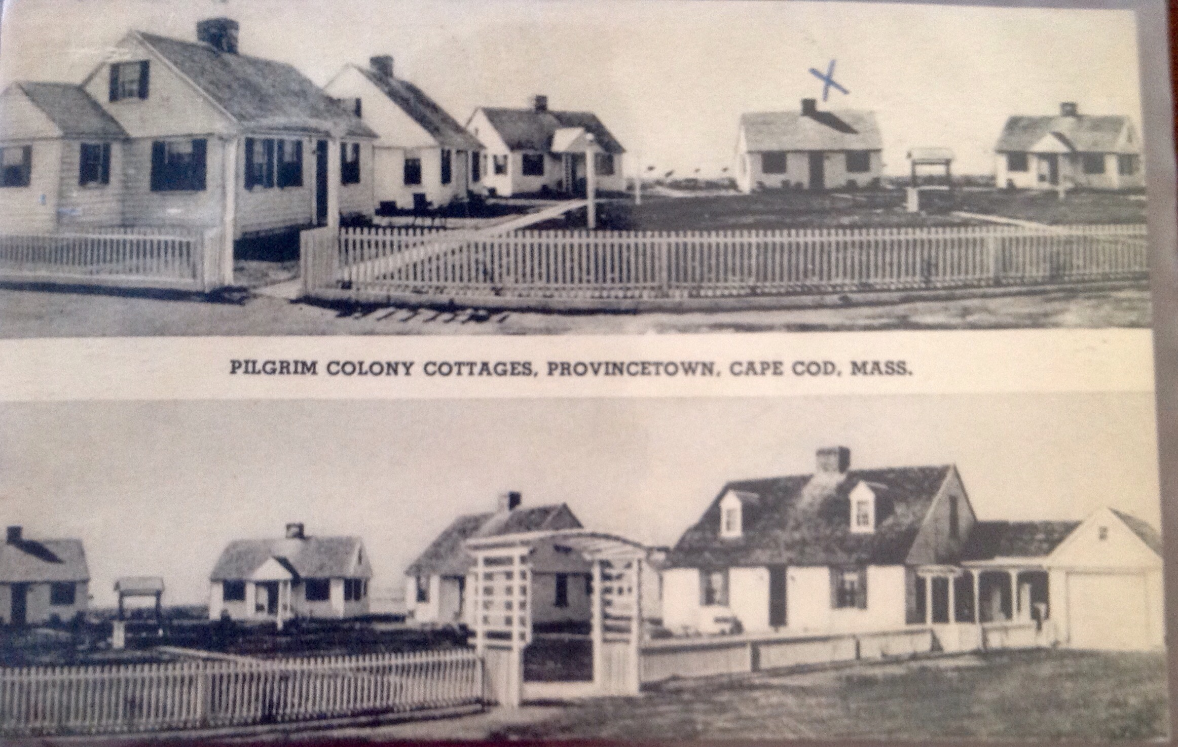 cottages cod cottage ma cape and picket photo white in massachusetts usa fence stock provincetown